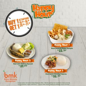 HAPPY HOUR PROMO!!